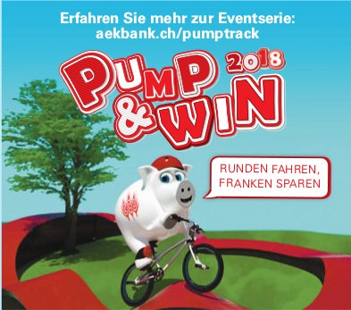 PUMP & WIN 2018 - AEK Bank