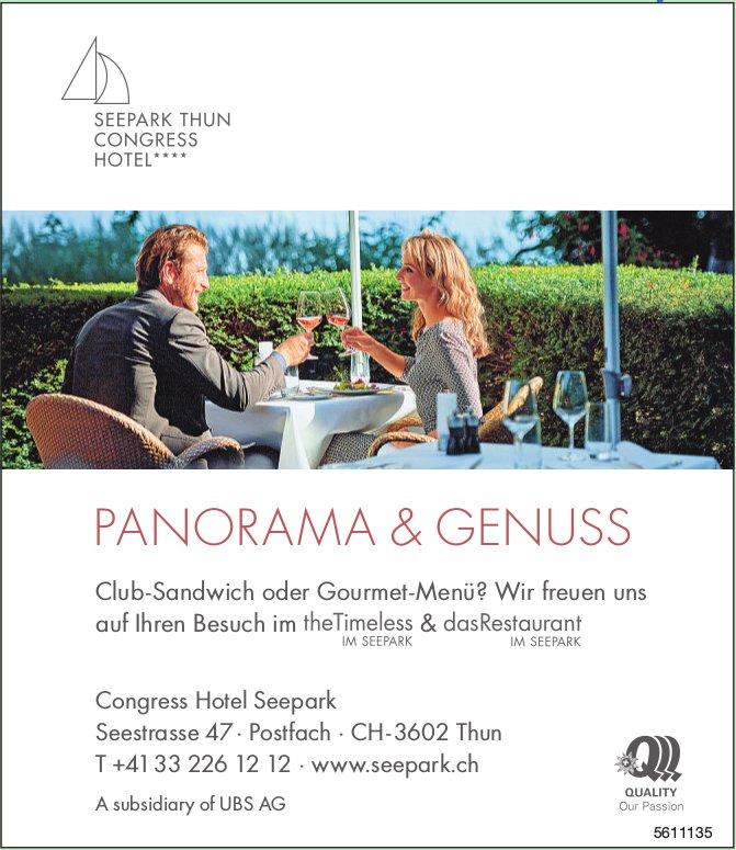 Congress Hotel Seepark - PANORAMA & GENUSS