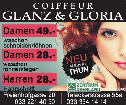 COIFFEUR GLANZ & GLORIA, Zentrum Oberland THUN