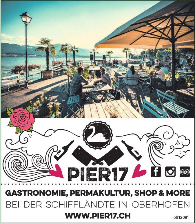 PIER17 - Gastronomie, Permakultur, Shop & More bei der Schiffländte in Oberhofen