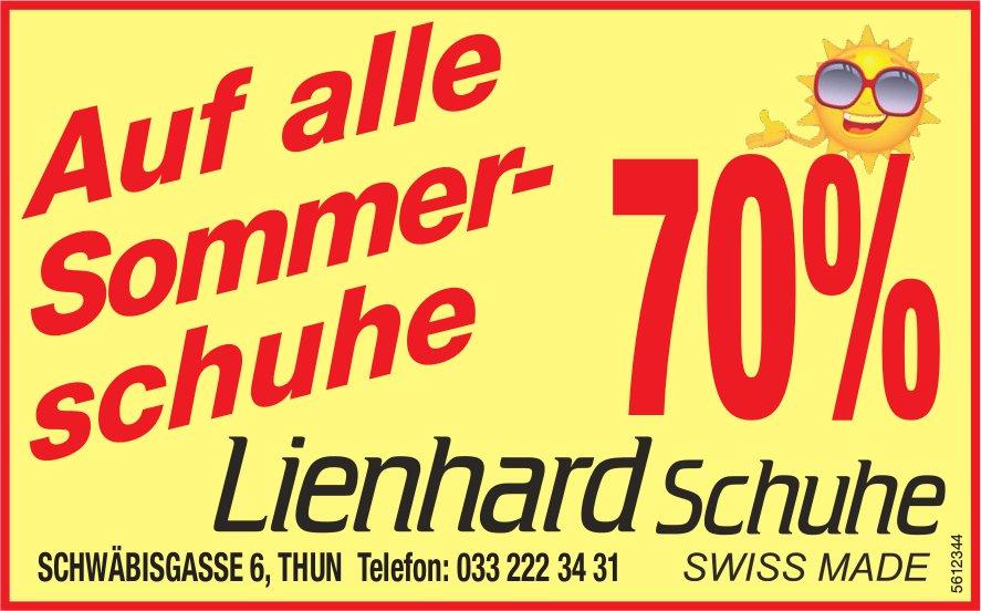 Lienhard Schuhe, Thun - 70% auf alle Sommerschuhe