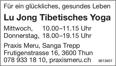 Lu Jong Tibetisches Yoga, Thun