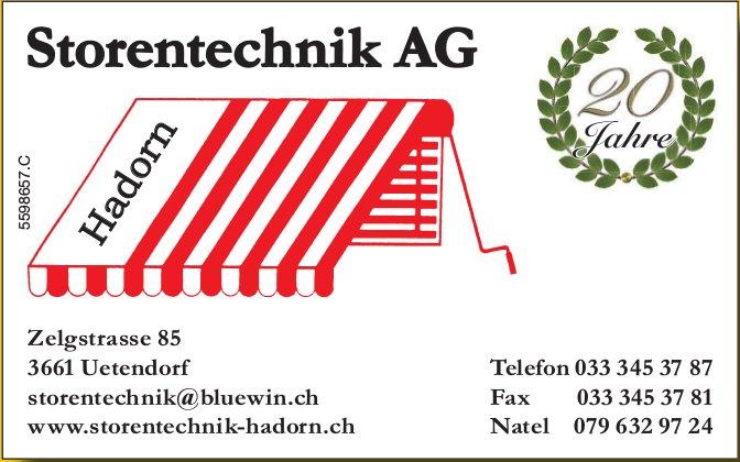 Storentechnik AG - Hadorn