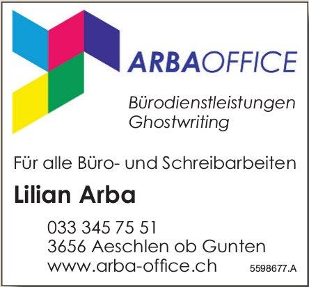 ARBA OFFICE - Für alle Büro- und Schreibarbeiten