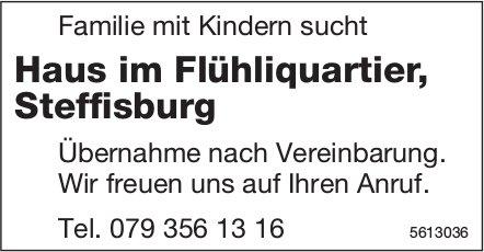 Familie mit Kindern sucht Haus im Flühliquartier, Steffisburg