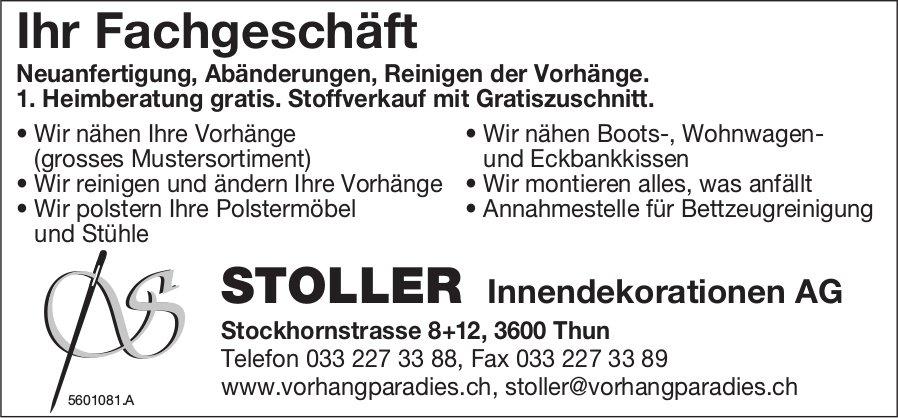 STOLLER Innendekorationen AG - Ihr Fachgeschäft