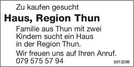 Haus, Region Thun zu kaufen gesucht