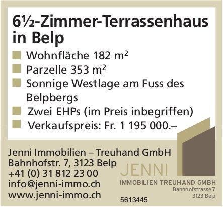 6½-Zimmer-Terrassenhaus in Belp zu verkaufen