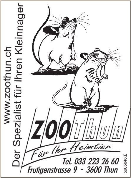 Zoo Thun - Der Spezialist für Ihren Kleinnager