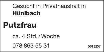 Putzfrau, Privathaushalt in Hünibach, gesucht