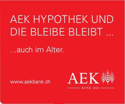 AEK Bank - AEK HYPOTHEK UND DIE BLEIBE BLEIBT ...auch im Alter.