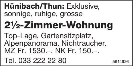 2½-Zimmer-Wohnung in Hünibach/Thun zu vermieten