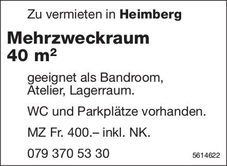 Mehrzweckraum 40 m2 in Heimberg zu vermieten