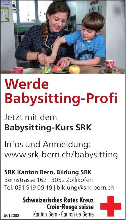 Schweizerisches Rotes Kreuz - Werde Babysitting-Profi jetzt mit dem Babysitting-Kurs SRK