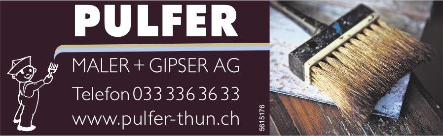 PULFER, MALER + GIPSER AG