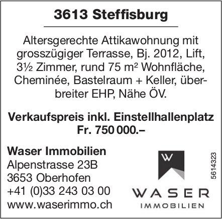 3.5 Zimmer Attikawohnung in Steffisburg zu verkaufen