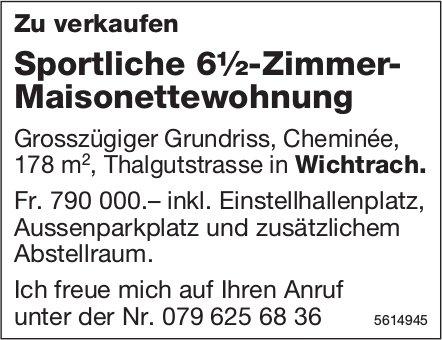 Sportliche 6½-Zimmer-Maisonettewohnung in Wichtrach zu verkaufen