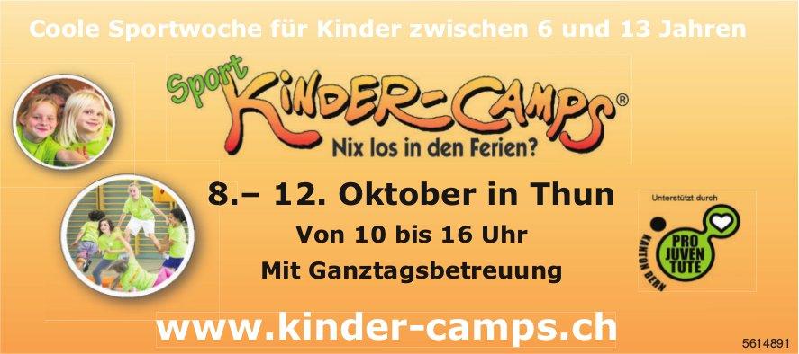 Sport Kinder-Camps, 8. - 12. Oktober, Thun