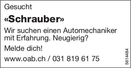 «Schrauber» gesucht