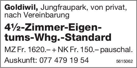 4½-Zimmer-Eigentums-Whg.-Standard in Goldiwil zu vermieten