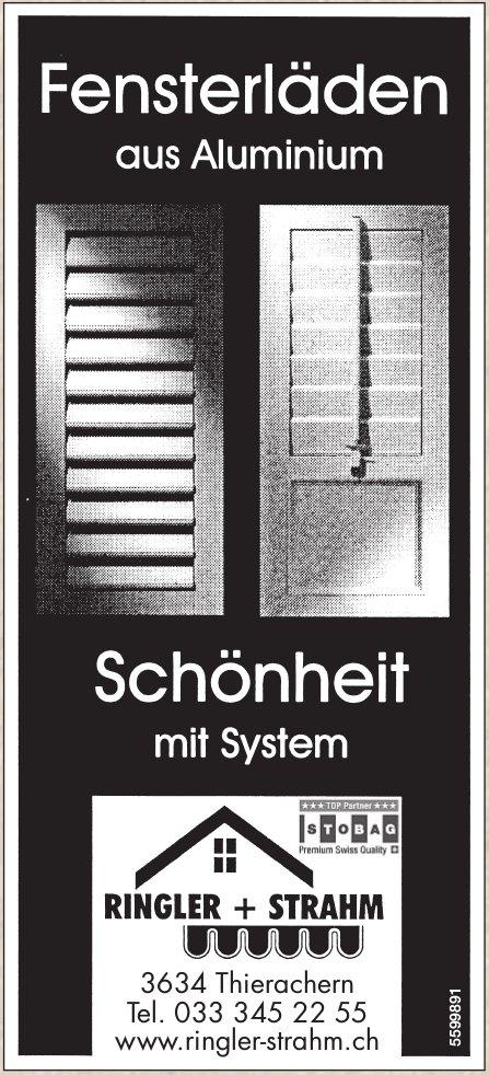 RINGLER + STRAHM - Fensterlöden aus Aluminium / Schönheit mit System
