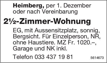 2½-Zimmer-Wohnung in Heimberg zu vermieten