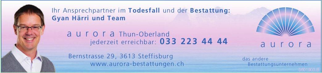 Aurora Bestattungsunternehmen, Steffisburg