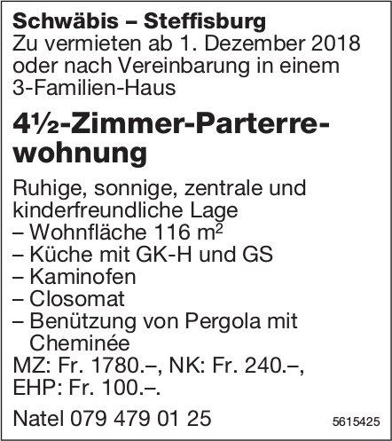 4½-Zimmer-Parterrewohnung in Schwäbis-Steffisburg zu vermieten