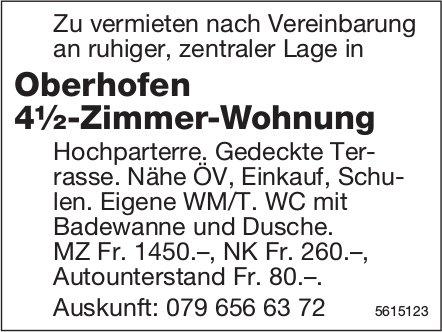 Oberhofen, 4½-Zimmer-Wohnung zu vermieten