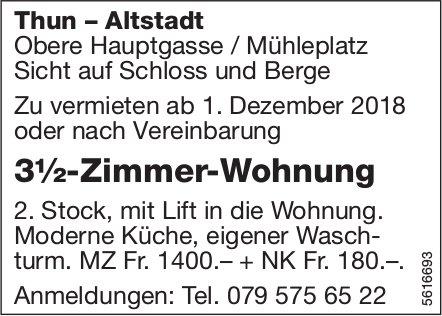 3½-Zimmer-Wohnung, Thun – Altstadt, zu vermieten