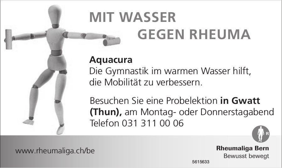 Aquacura - Probelektion in Gwatt, Rheumaliga Bern