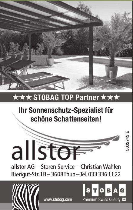 allstor AG, Storen Service