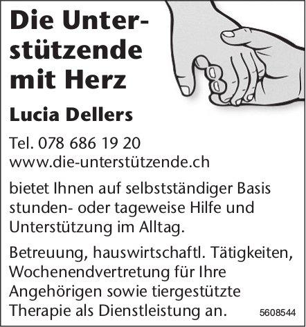 Die Unterstützende mit Herz, Lucia Dellers