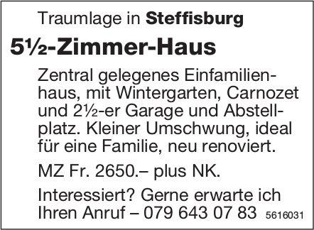 5½-Zimmer-Haus in Steffisburg zu vermieten