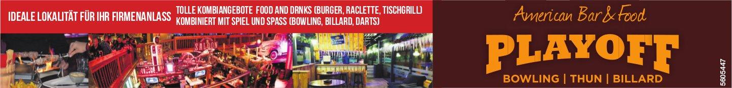 Playoff American Bar & Food