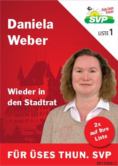 Daniela Weber wieder in den Stadtrat