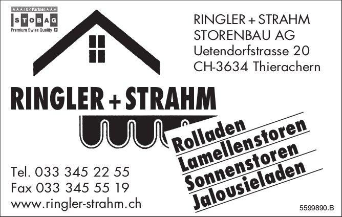 Ringler + Strahm Storenbau AG