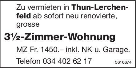 3½-Zimmer-Wohnung in Thun-Lerchenfeld zu vermieten