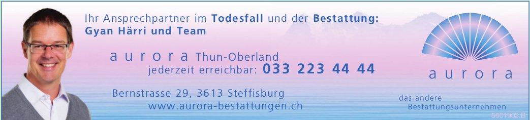 Aurora Bestattungsunternehmen, Thun-Oberland, Steffisburg