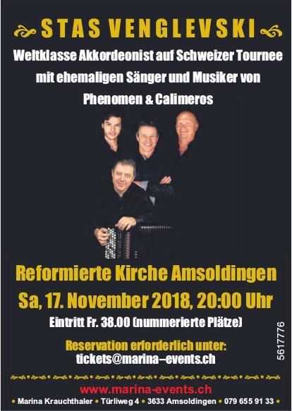 STAS VENGLEVSKI, Reformierte Kirche Amsoldingen, 17. November