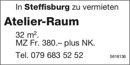 Atelier-Raum 32 m2 in Steffisburg zu vermieten