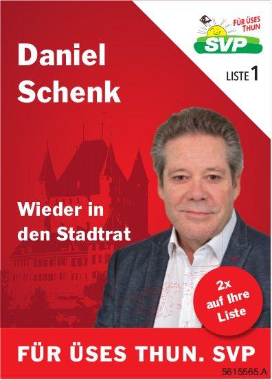 Daniel Schenk - Wieder in den Stadtrat