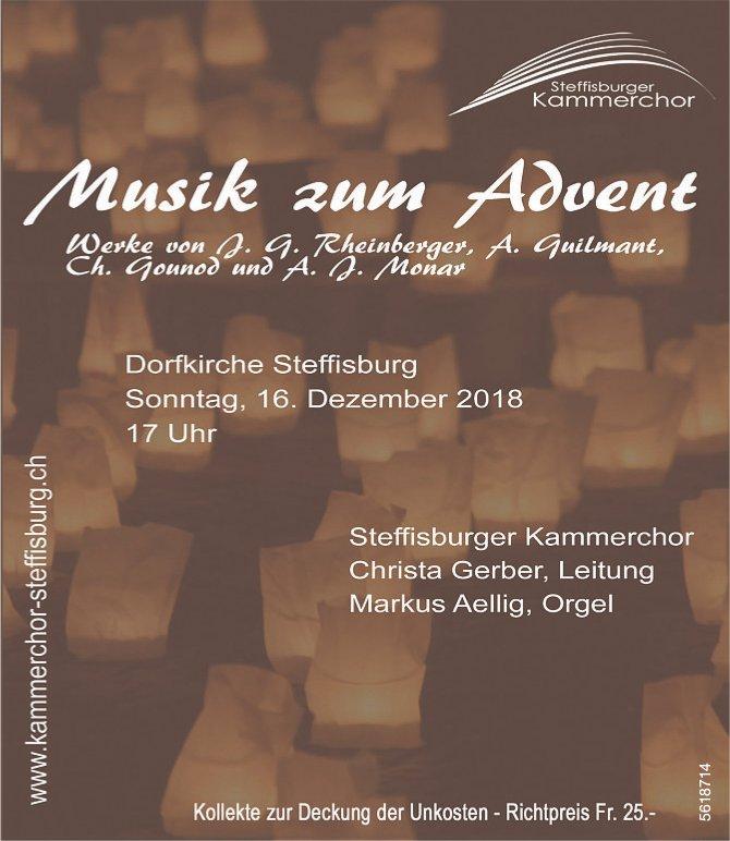 Steffisburger Kammerchor - Musik zum Advent, Dorfkirche Steffisburg, am 16. Dezember
