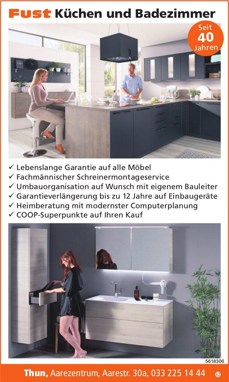 Fust, Küchen und Badezimmer, Thun