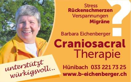 Craniosacral Therapie - Barbara Eichenberger, Hünibach