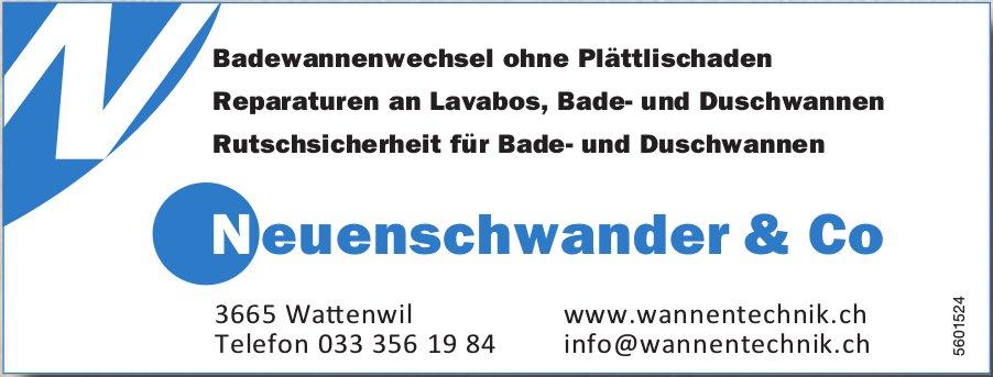 Neuenschwander & Co - Badewannenwechsel ohne Plättlischaden