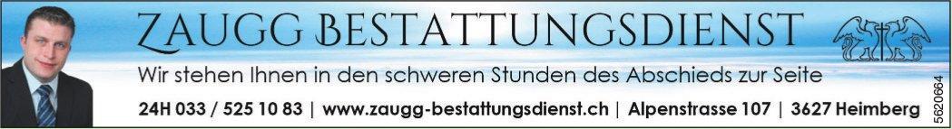 ZAUGG BESTATTUNGSDIENST, Heimberg