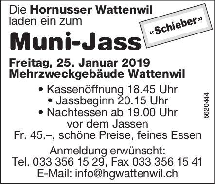 Muni-Jass in Hornusser Wattenwil am 25. Januar