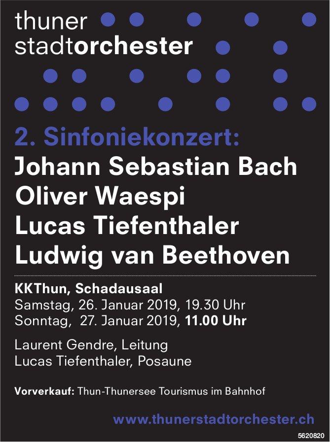 Thuner Stadtorchester - 2. Sinfoniekonzert am 26. + 27. Januar