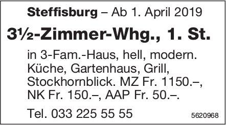 3½-Zimmer-Whg., 1. St. in Steffisburg zu vermieten